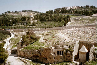 Tombs on Mount of Olives